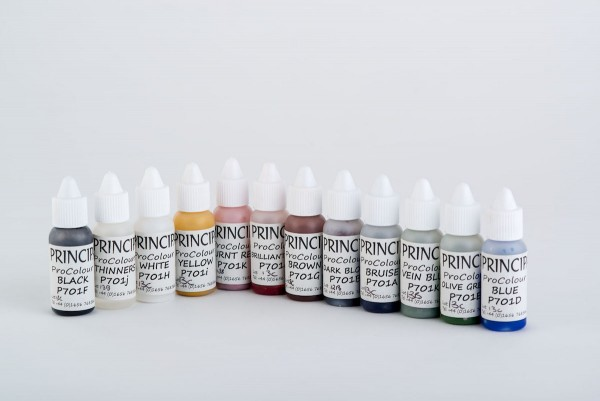 Pro Colour Set P701, 12 x 10ml